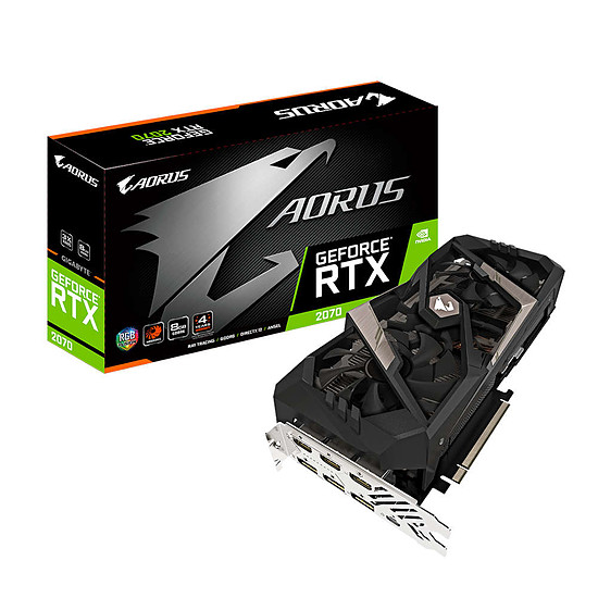 Gigabyte Aorus GeForce RTX 2070 8G