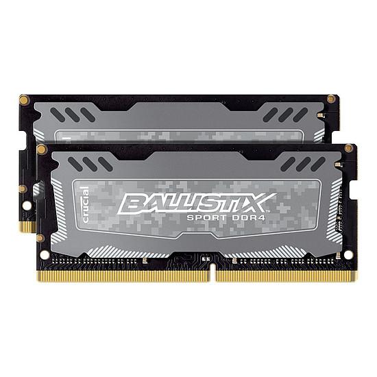 Mémoire Ballistix SO-DIMM Sport LT DDR4 2 x 8 Go 2666 MHz