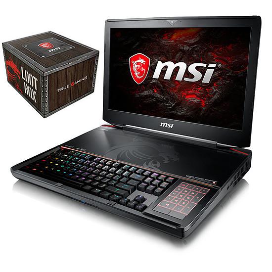 PC portable MSI GT83 TITAN 8RG-028FR + Loot Box Accessoires offerte