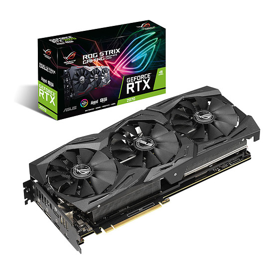 Carte graphique Asus GeForce RTX 2070 ROG STRIX - 8 Go GDDR6