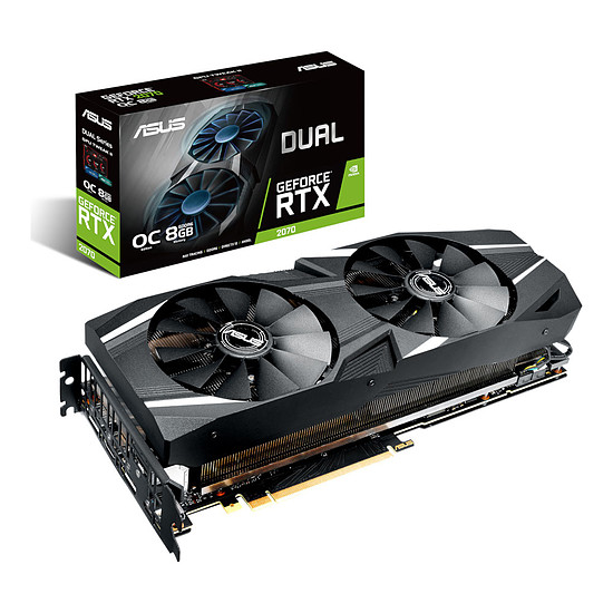 Carte graphique Asus GeForce RTX 2070 Dual OC