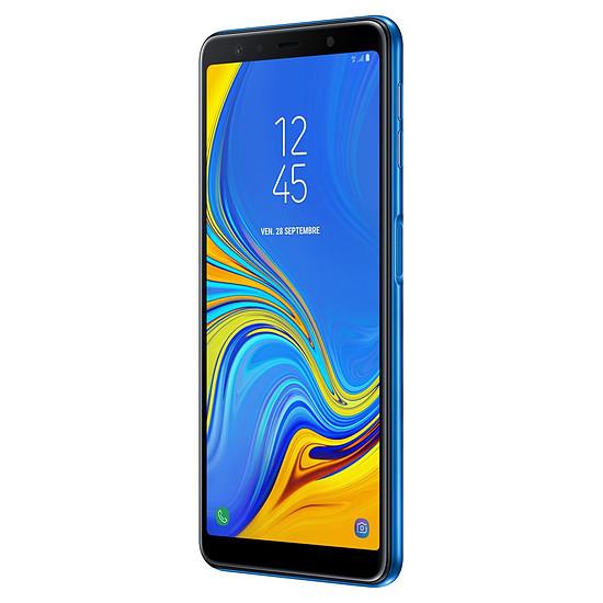 Smartphone et téléphone mobile Samsung Galaxy A7 (bleu) - 64 Go - 4 Go