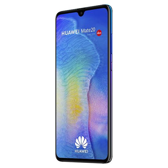 Smartphone et téléphone mobile Huawei Mate 20 (twilight) - 128 Go - 4 Go