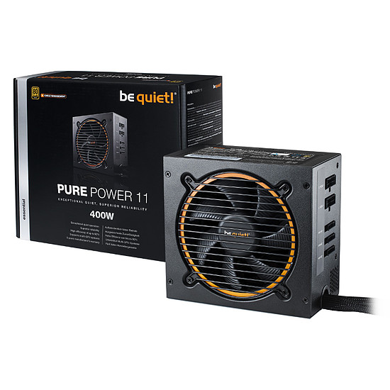 Alimentation PC Be Quiet! Pure Power 11 CM - 400W - Autre vue