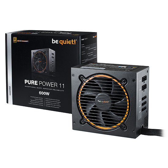 Alimentation PC Be Quiet! Pure Power 11 CM - 600W - Autre vue