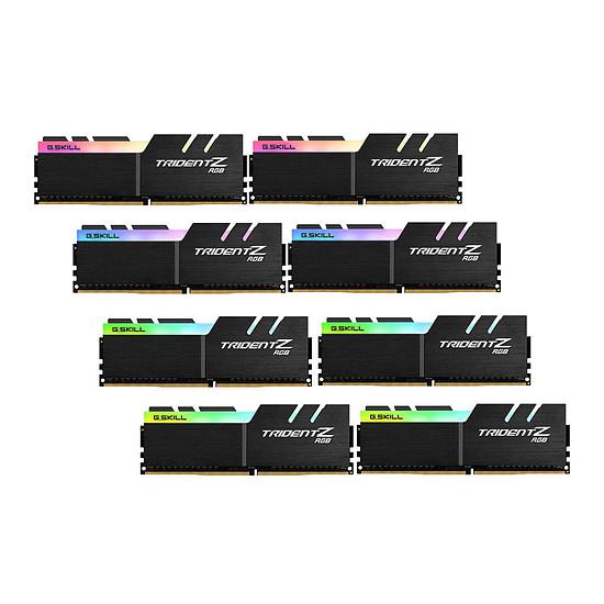 Mémoire G.Skill Trident Z RGB DDR4 8 x 8 Go 2933 MHz CAS 16