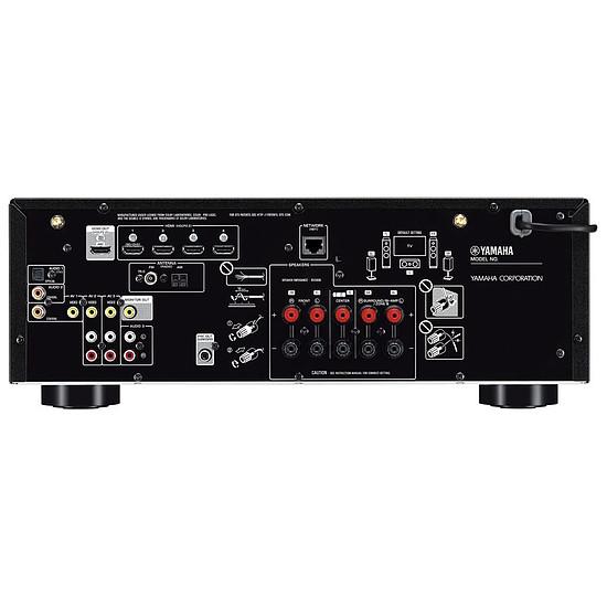 Ampli Home-Cinéma Yamaha RX-V485 Titane - Autre vue
