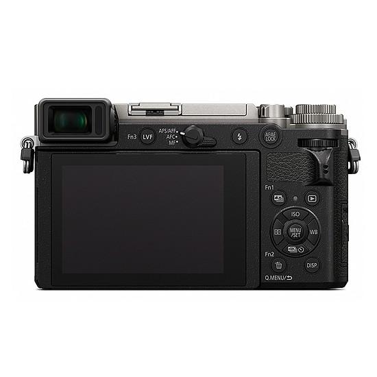 Appareil photo hybride Panasonic DC-GX9 Argent + 12-60 mm - Autre vue