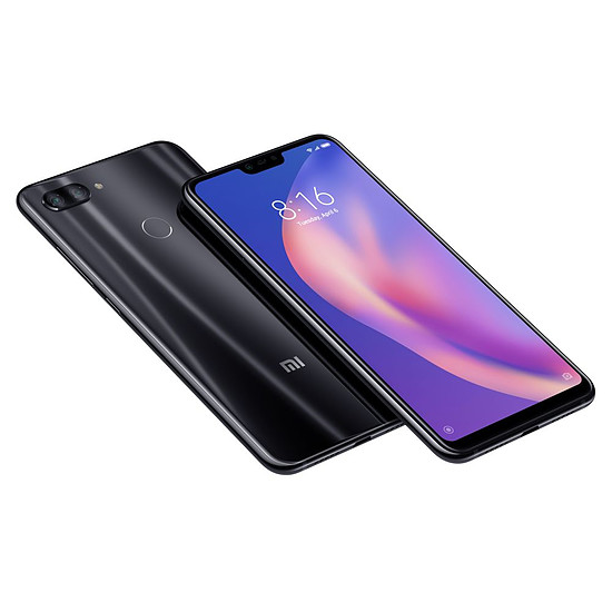 Smartphone et téléphone mobile Xiaomi Mi 8 Lite (noir) - 64 Go - 4 Go - Autre vue