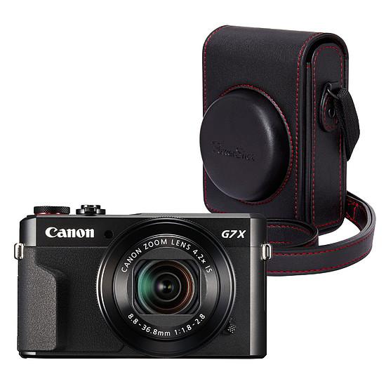 Appareil photo compact ou bridge Canon PowerShot G7 X Mark II + Etui souple