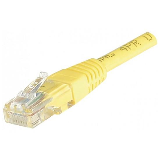 Câble RJ45 Câble Ethernet RJ45 Cat 5e UTP Jaune - 5 m