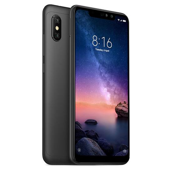 Smartphone et téléphone mobile Xiaomi Redmi Note 6 Pro (noir) - 64 Go - 4 Go