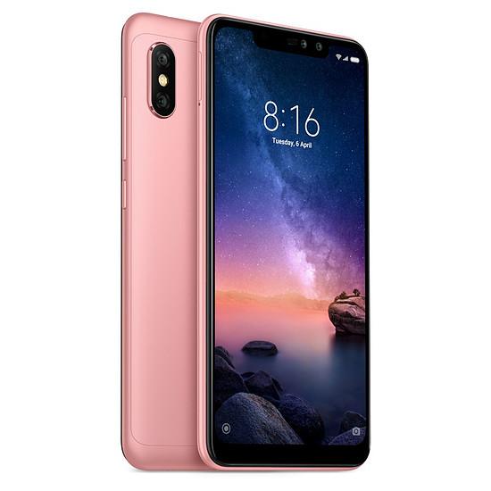 Smartphone et téléphone mobile Xiaomi Redmi Note 6 Pro (rose) - 64 Go - 4 Go