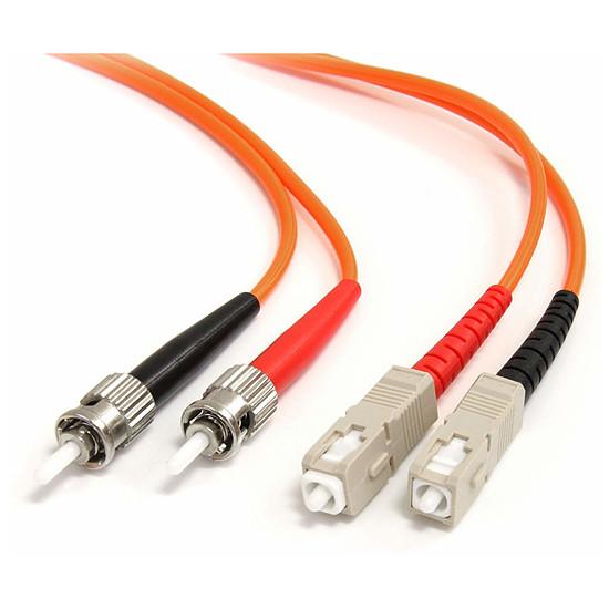 Câble fibre Optique StarTech.com Jarretiere fibre optique OM1 62.5/125 de 3m ST-SC