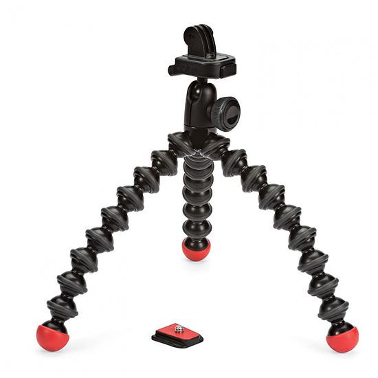 Trépied appareil photo Joby GorillaPod Action Tripod Noir/Rouge