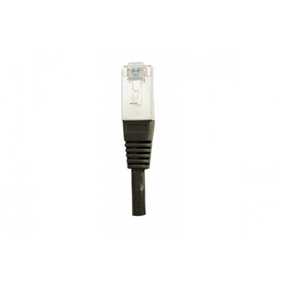 Câble RJ45 Câble Ethernet RJ45 Cat 5e FTP Noir - 0,5 m - Autre vue