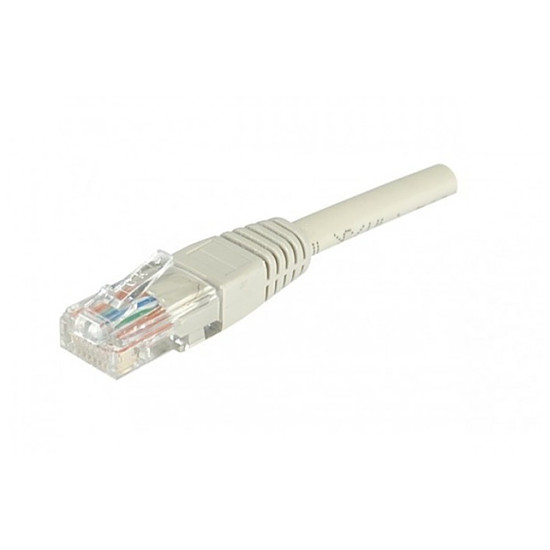 Câble RJ45 Câble Ethernet RJ45 Cat 6 UTP Gris - 5 m
