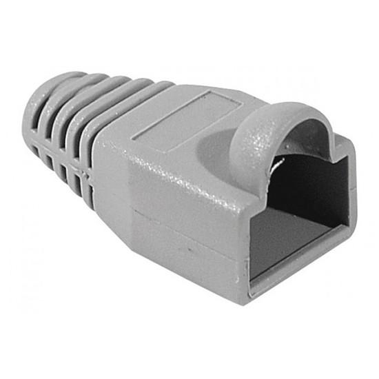 Connectique RJ45 Capuchon RJ45 (diamètre 6 mm) - Gris