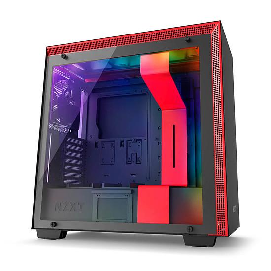 Boîtier PC NZXT H700i - Noir/Rouge