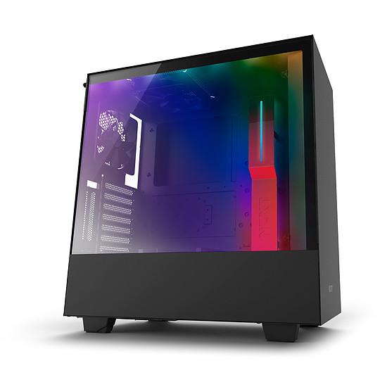 Boîtier PC NZXT H500i - Noir/Rouge