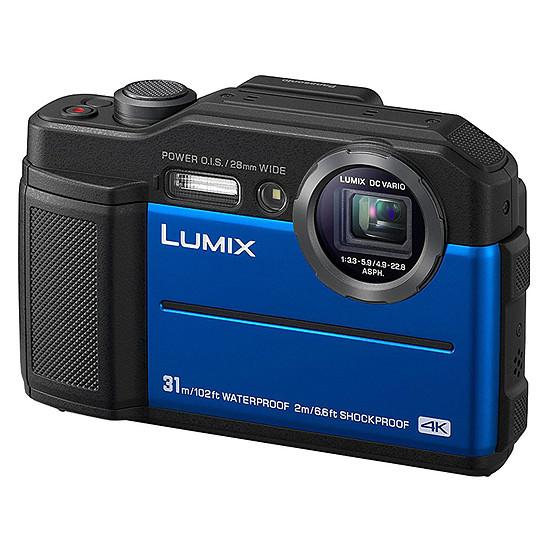 Appareil photo compact ou bridge Panasonic DC-FT7 Bleu - Autre vue