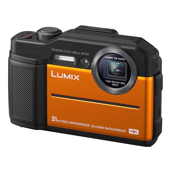 Appareil photo compact ou bridge Panasonic DC-FT7 Orange - Autre vue