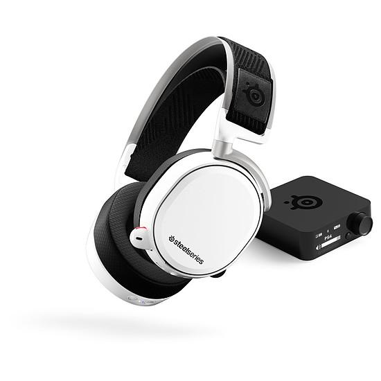 Casque micro SteelSeries Arctis Pro Wireless - Blanc