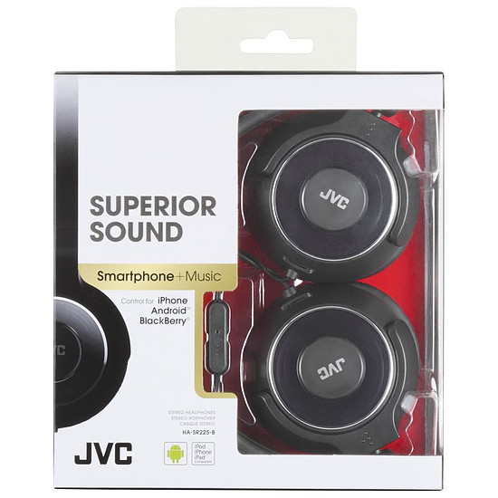 Casque Audio JVC HA-SR225-E Noir - Autre vue