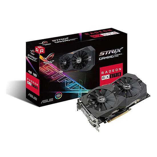 Carte graphique Asus Radeon RX 570 STRIX - 4 Go