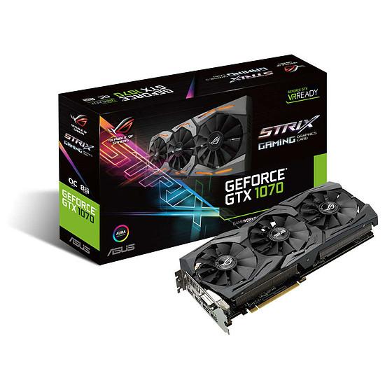 Carte graphique Asus GeForce GTX 1070 STRIX OC - 8 Go