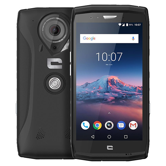 Smartphone et téléphone mobile Crosscall Trekker-X4 (noir) - 64 Go - 4 Go