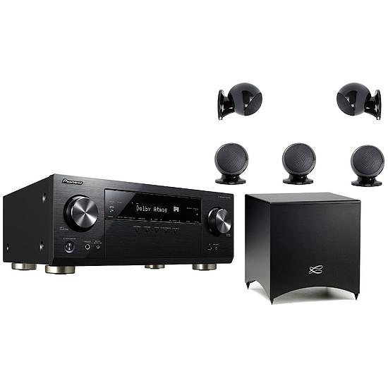 Ensemble Home-Cinéma Pioneer VSX-933 Noir + Cabasse Alcyone 2 Noir