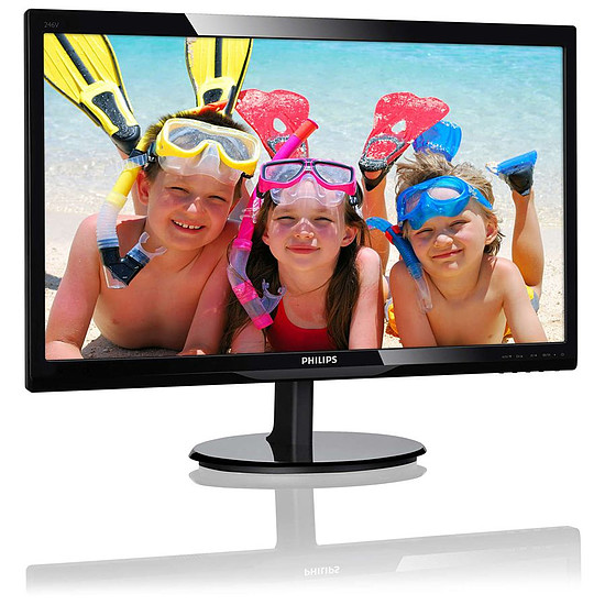 Écran PC Philips 246V5LDSB - Autre vue
