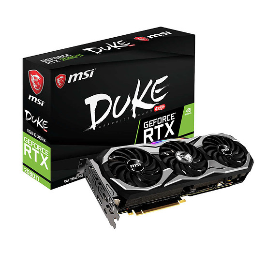 Carte graphique MSI GeForce RTX 2080 Ti Duke - 11 Go GDDR6