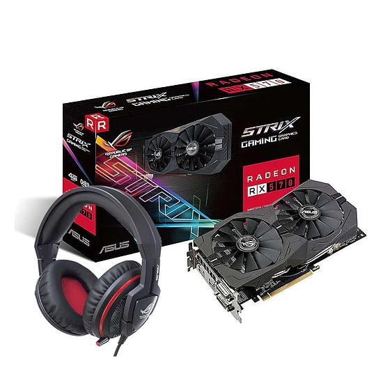 Carte graphique Asus Radeon RX 570 STRIX + Orion Pro