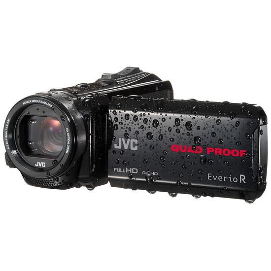 Caméscope JVC GZ-R435 Noir + Carte SDHC 8 Go