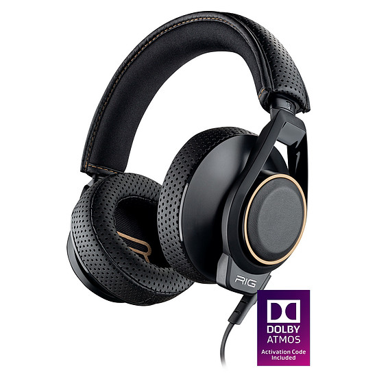 Casque micro Plantronics RIG 600 + Dolby Atmos