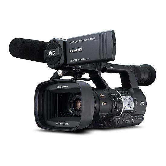 Caméscope JVC JY-HM360E - Autre vue