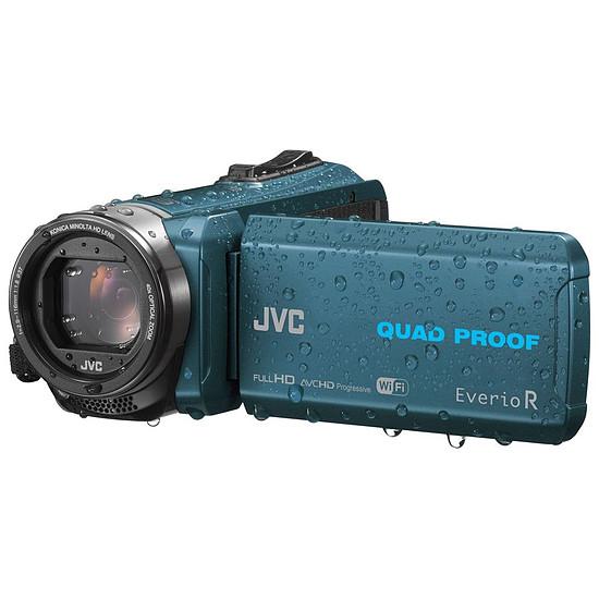 Caméscope JVC GZ-RX645 Bleu + Carte SD 16 GO