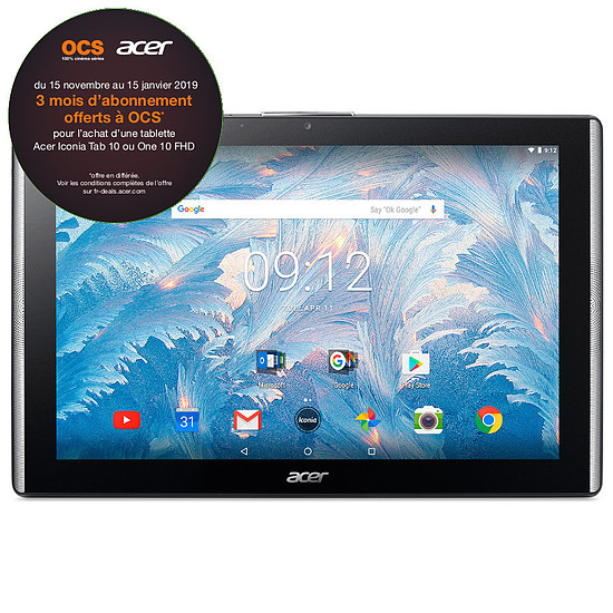Tablette Acer Iconia One 10 (B3-A40FHD-K0TC)