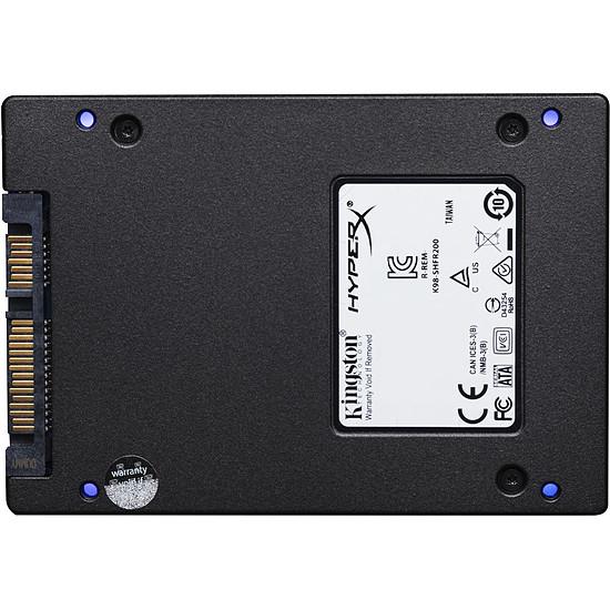 Disque SSD HyperX Fury RGB SSD 240 Go - Autre vue