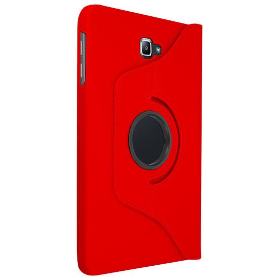 "Accessoires tablette tactile Akashi Etui Folio Galaxy Tab A6 10.1"" Rouge"
