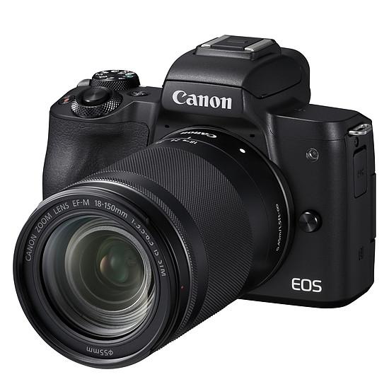Appareil photo hybride Canon EOS M50 + EF M 18-150 mm IS STM - Autre vue