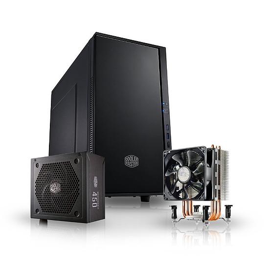 Boîtier PC CoolerMaster Silencio 352 + HyperTX3I + MW 450W