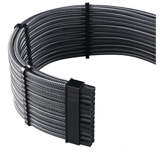 Alimentation CableMod PRO ModMesh C-Series AXi, HXi & RM Cable Kit - Carbone - Autre vue