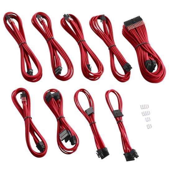 Alimentation CableMod PRO ModMesh C-Series AXi, HXi & RM Cable Kit - Rouge - Autre vue