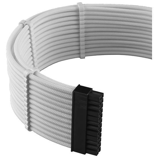 Alimentation CableMod PRO ModMesh C-Series AXi, HXi & RM Cable Kit - Blanc - Autre vue
