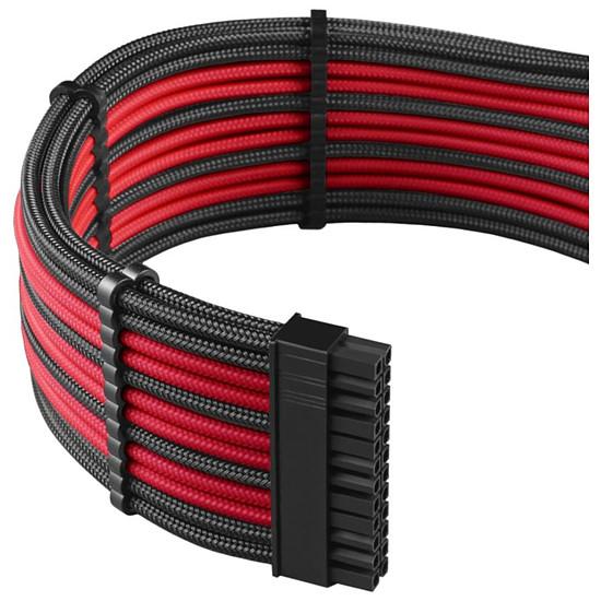 Alimentation CableMod PRO ModMesh C-Series AXi, HXi & RM Cable Kit - Noir / Rouge - Autre vue
