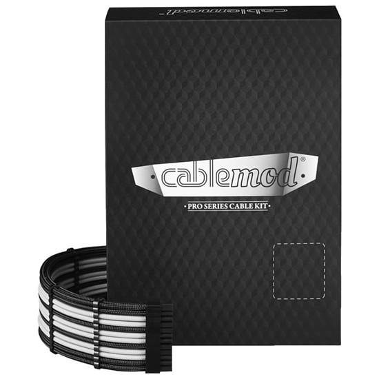 Alimentation CableMod PRO ModMesh C-Series AXi, HXi & RM Cable Kit - Noir / Blanc