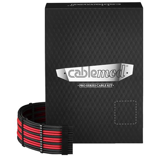 Alimentation CableMod PRO ModMesh C-Series RMi & RMx Cable Kit - Noir / Rouge